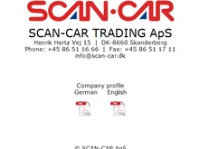 SCAN-CAR TRADING ApS
